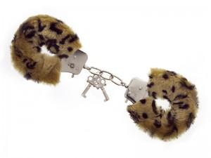 Handschellen Love Cuffs Leopard