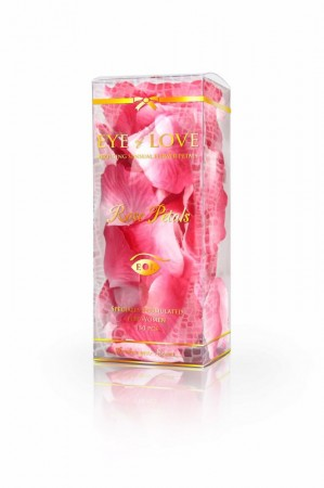 EYE of LOVE Rosenblätter weiß / pink 150Stk