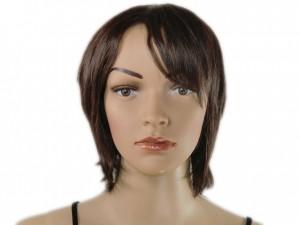 Perücke braun schulterlang wig
