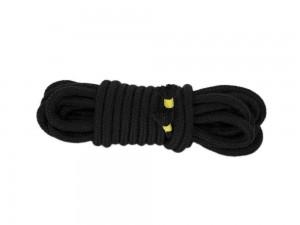 5m Bondage-Seil Baumwolle schwarz