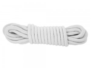 5m Bondage-Seil Baumwolle weiß