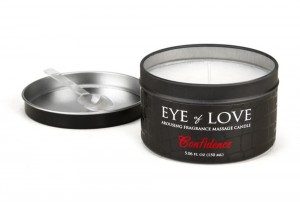 EYE of LOVE Massage Kerze Confidence für Ihn!