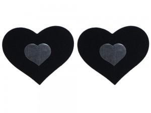 Nippelschmuck in Herz-Optik