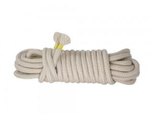 5m Bondage-Seil Baumwolle beige