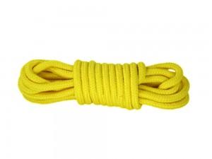 5m Bondage-Seil Baumwolle gelb