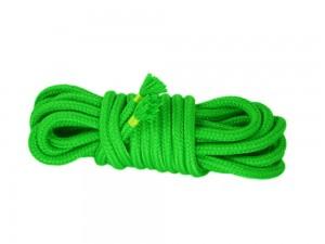 5m Bondage-Seil Baumwolle grün