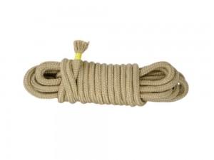 5m Bondage-Seil Baumwolle natur