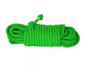10m Bondage-Seil Baumwolle grün