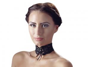 Halsband aus Spitze