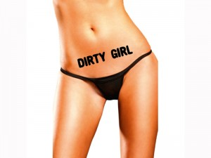"x-ink Tattoo "" Dirty Girl"" 2er Set"