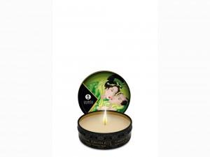 Shunga Massage Kerze grüner Tee