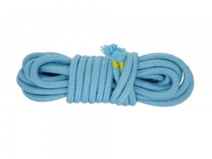 5m Bondage-Seil Baumwolle Babyblau