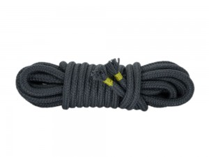 5m Bondage-Seil Baumwolle grau