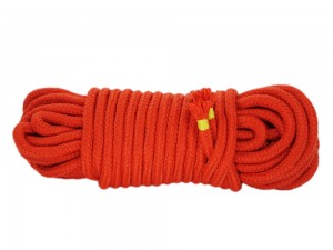 10m Bondage-Seil Baumwolle Orange
