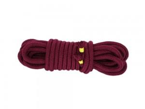 5m Bondage-Seil Baumwolle Weinrot