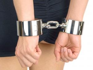 Schwere luxus Handschellen - Handeisen für Frauen