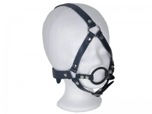 Bondage Harness Knebel mit Ring