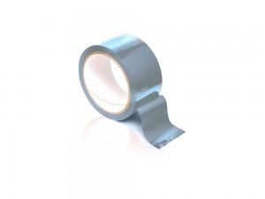 Bondage Tape silber