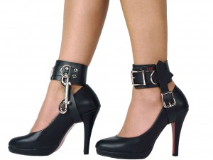 Bondage High Heel Fesseln schwarz