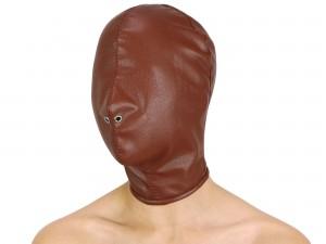 Isolationsmaske Full Face Hood Maske braun