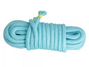 5m Bondage-Seil Baumwolle Minze