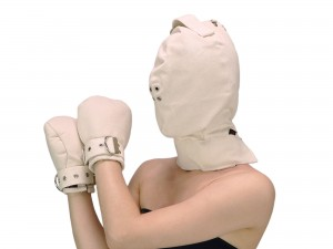 Maske highly safe + Fist Mitts im Set