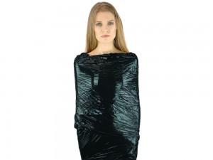 XXL Rolle Bondage Folie extra stark 50cm 150m schwarz