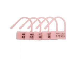5er Pack Einwegschlösser für Peniskäfige rosa