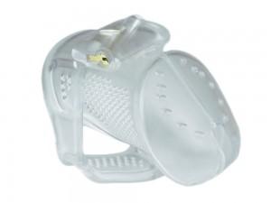 Obey Peniskäfig aus Kunststoff transparent