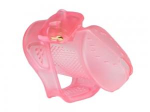 Obey Peniskäfig aus Kunststoff rosa