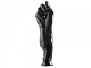 Fist of Fury Fist Plug schwarz 28cm