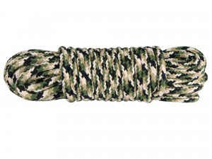 10m Bondageseil 4-farbig Tarnfarbe Camouflage