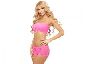 Pinkes Top & Panty Set