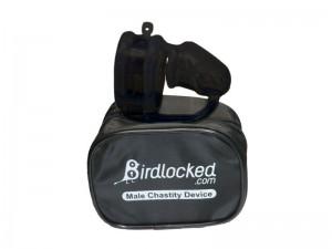 Birdlocked Mini 2nd skin Peniskäfig aus Silikon schwarz