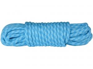 10m Bondageseil 2-farbig Babyblau Türkis