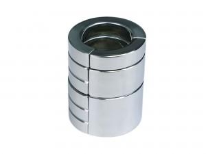 Stapelbarer Edelstahl Ballstretcher System magnetisch 3er Set