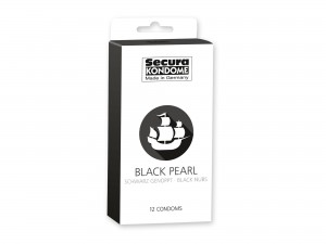 Secura Black Pearl Kondome 12er