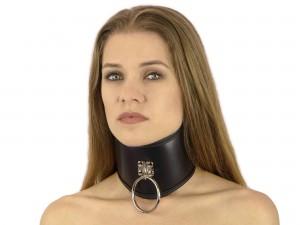 Bondage Halsband extra breit