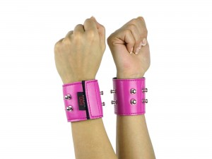 Cuffliner für Handschellen pink