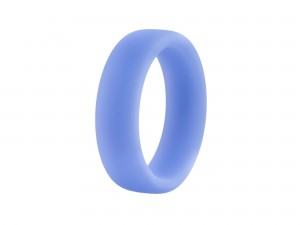 Performance Silikon glow hellblau Cock Ring