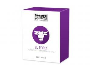 Secura El Toro Kondome mit Potenzring 100er