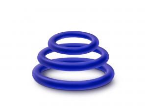 Performance VS4 Ringe blau 3tlg.