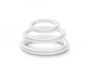 Performance VS4 Ringe weiß 3tlg.