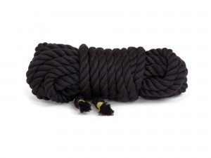 5 m Twisted Rope schwarz
