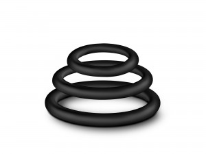Performance VS4 Ringe schwarz 3tlg.