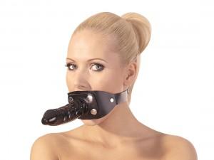 Zado Mundknebel Latex-Dildo außen und Knebel innen