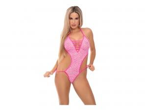 V is for Vixen Body pink Gr. S/M und M/L