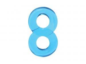 Renegade Lucky 8 blau 7 cm