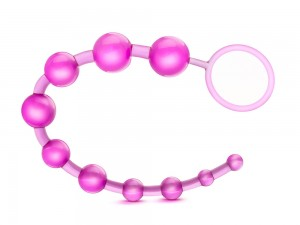 B Yours Basic Beads Analkette pink 32 cm