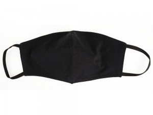 Herren Maske aus Baumwolle schwarz